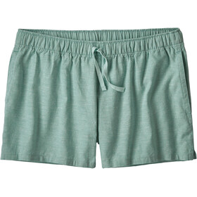 Patagonia Island Hemp Baggy Shorts Dames, cross weave/atoll blue